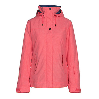Roxy Billie Womens Insulated Snowboard Jacket, Paradise Pink, viewer