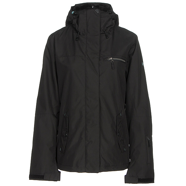 Roxy Jetty 3N1 Womens Insulated Snowboard Jacket, True Black, 600