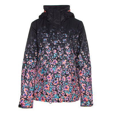 Roxy Jetty Gradient Womens Insulated Snowboard Jacket, Gradient Flowers, viewer