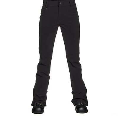 Roxy Creek Womens Snowboard Pants, True Black, viewer