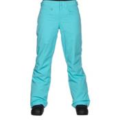 Roxy Backyard Womens Snowboard Pants, Blue Radiance, medium