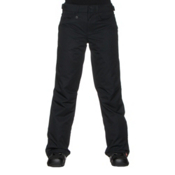 Roxy Backyard Womens Snowboard Pants, True Black, medium