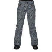 Roxy Nadia Printed Womens Snowboard Pants, Mauritius Daze, medium