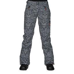 Roxy Nadia Printed Womens Snowboard Pants, Mauritius Daze, 256