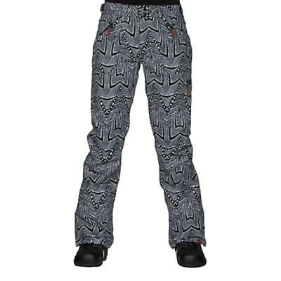 Roxy Nadia Printed Womens Snowboard Pants, Mauritius Daze, viewer