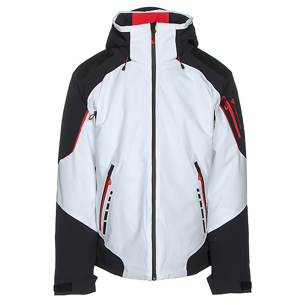 Obermeyer Shryke Mens Insulated Ski Jacket, White, 600