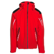 Obermeyer Shryke Mens Insulated Ski Jacket, Red, medium