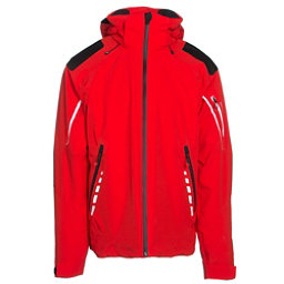 Obermeyer Shryke Mens Insulated Ski Jacket, Red, 256