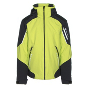 Obermeyer Shryke Mens Insulated Ski Jacket, Screamin Green, medium