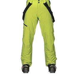 Obermeyer Force Suspender Mens Ski Pants, Screamin Green, 256
