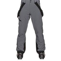 Obermeyer Force Suspender Mens Ski Pants, Graphite, 256