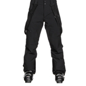 Obermeyer Force Suspender Mens Ski Pants, Black, medium