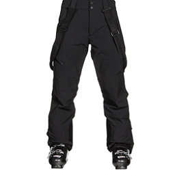 Obermeyer Force Suspender Mens Ski Pants, Black, 256