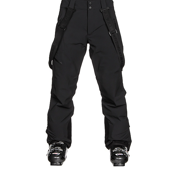Obermeyer Force Suspender Mens Ski Pants, Black, 600