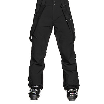 Obermeyer Force Suspender Mens Ski Pants, Graphite, viewer