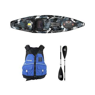 Feelfree Moken 10 Winter Camo Kayak - Sport Package 2016, , viewer