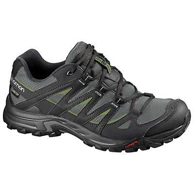 Salomon Eskape GTX Hiking Shoes, Black-Asphalt-Aluminum, viewer
