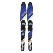 O'Brien Vortex Combo Water Skis With 700 Adjustable Bindings 2016, Blue, medium