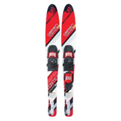 O'Brien Vortex Combo Water Skis With 700 Adjustable Bindings, Red, medium
