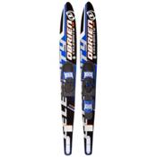 O'Brien Celebrity Combo Water Skis With 700 Adjustable Bindings, Blue, medium