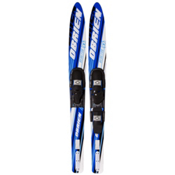 O'Brien Reactor Combo Water Skis With 700 Adjustable Bindings, , medium
