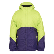 686 Wendy Insulated Girls Snowboard Jacket, Violet Colorblock, medium