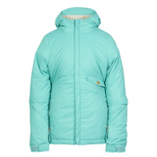 686 Wendy Insulated Girls Snowboard Jacket, Tiffany, medium
