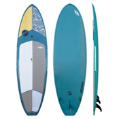 Boardworks Surf Kraken 10ft 3in Stand Up Paddleboard 2016, Wood-Steel Blue, medium