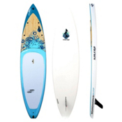 Boardworks Surf Sirena 10ft 6in Touring Stand Up Paddleboard, Wood-Blue, medium