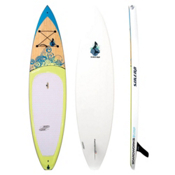 Boardworks Surf Sirena 10ft 6in Touring Stand Up Paddleboard, Wood-Light Yellow, medium
