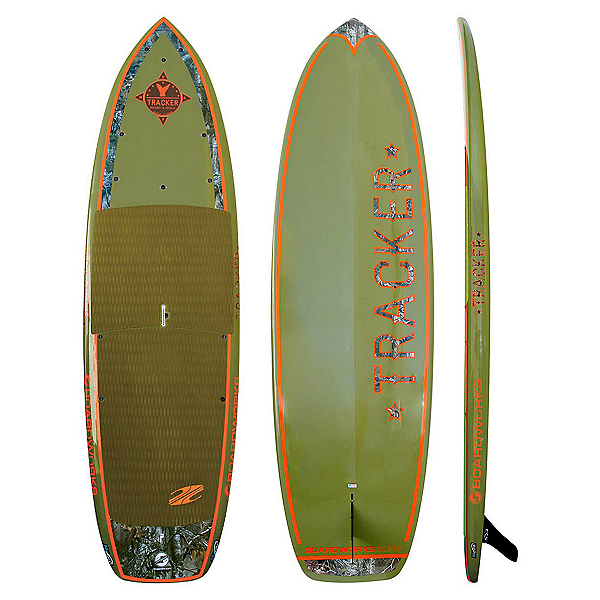 Boardworks Surf Tracker 11' Fishing Stand Up Paddleboard, , 600