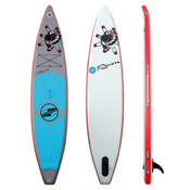 Boardworks Surf Raven Inflatable Stand Up Paddleboard 2016, Grey-Red, medium