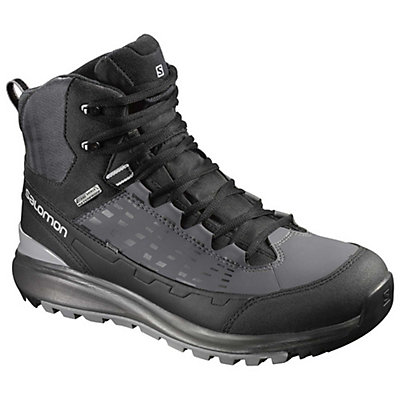 Salomon Kaipo Mid CS WP 2 Mens Boots, Black-Autobahn-Pewter, viewer