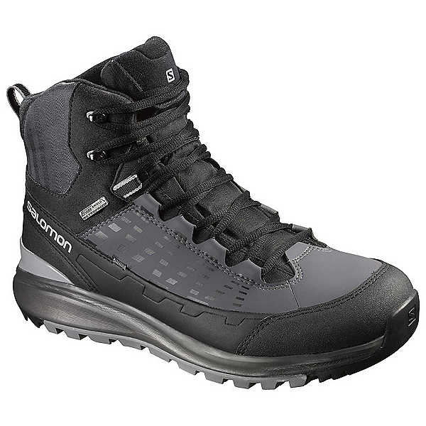 Salomon Kaipo Mid CS WP 2 Mens Boots, Black-Autobahn-Pewter, 600