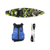 Feelfree Moken 10 Lime Camo Kayak - Sport Package, , medium