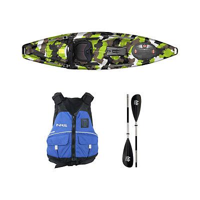 Feelfree Moken 10 Lime Camo Kayak - Sport Package, , viewer