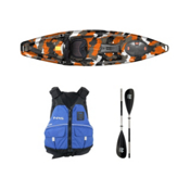 Feelfree Moken 10 Orange Camo Kayak - Sport Package 2016, , medium