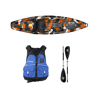 Feelfree Moken 10 Orange Camo Kayak - Sport Package 2016, , viewer