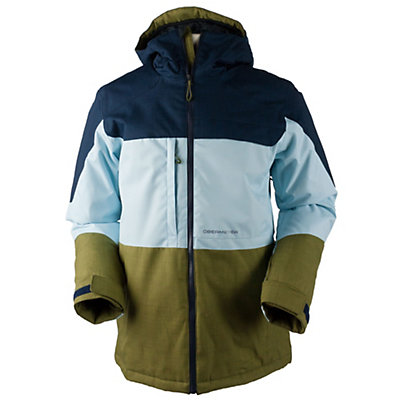 Obermeyer Wasatch Mens Insulated Ski Jacket, Ice Cap, viewer