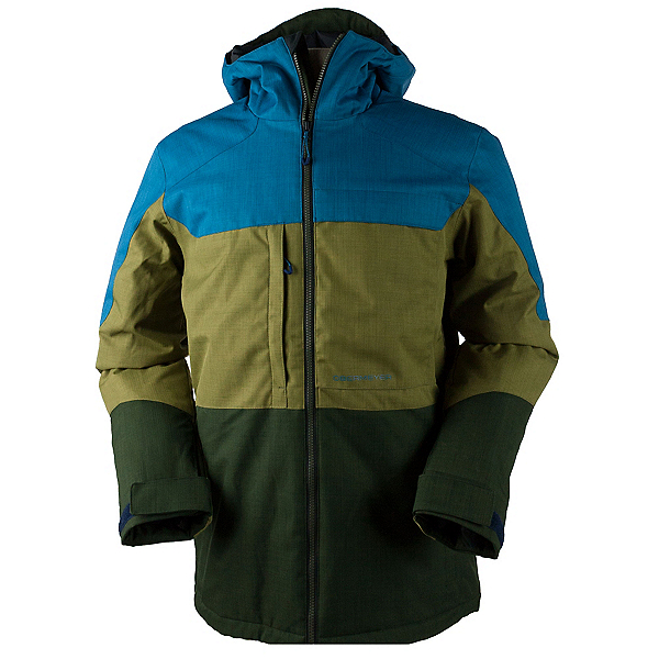 Obermeyer Wasatch Mens Insulated Ski Jacket, Open Range, 600
