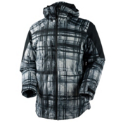 Obermeyer Wasatch Mens Insulated Ski Jacket, Forrest For The Trees, medium
