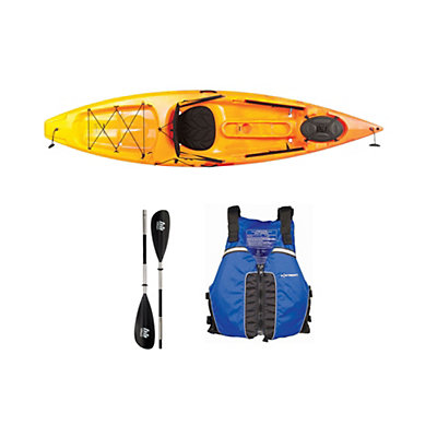 Ocean Kayak Tetra 10 Sunrise Kayak - Sport Package 2016, Blue, viewer