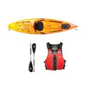 Ocean Kayak Tetra 10 Sunrise Kayak - Sport Package, Red, medium