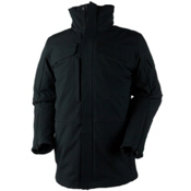 Obermeyer Sequence System Mens Insulated Ski Jacket, Black, medium