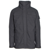 Obermeyer Sequence System Mens Insulated Ski Jacket, Herringbone, medium