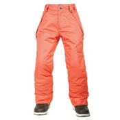 686 Agnes Insulated Girls Snowboard Pants, Coral, medium