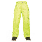 686 Agnes Insulated Girls Snowboard Pants, Lime, medium