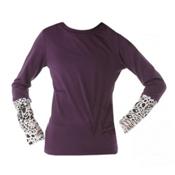 686 Serenity 1st Layer Girls Long Underwear Top, Violet, medium