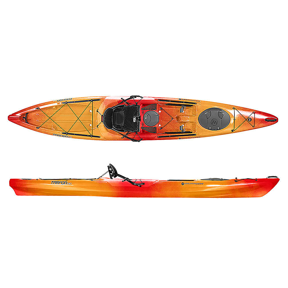 Wilderness systems tarpon 140 sit on top kayak 2016 ebay for Wilderness systems fishing kayaks