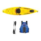 Ocean Kayak Tetra 10 Yellow Kayak - Sport Package, Blue, medium